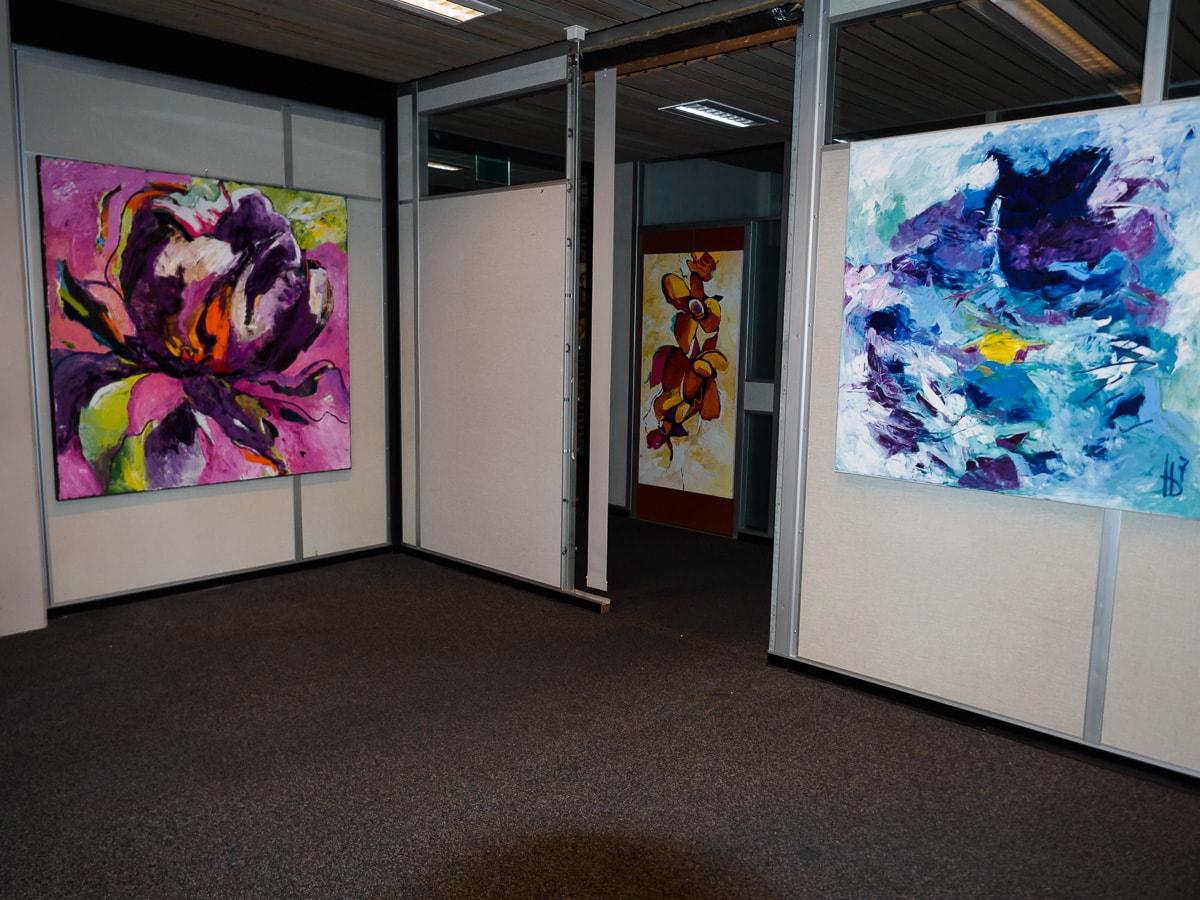 werk van Jeanne Jeurissen in het Kunsthuis
