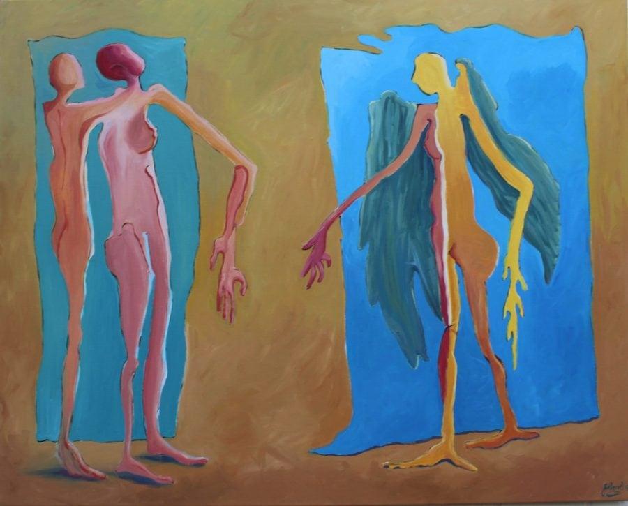schilderij van Frans van den Heuvel