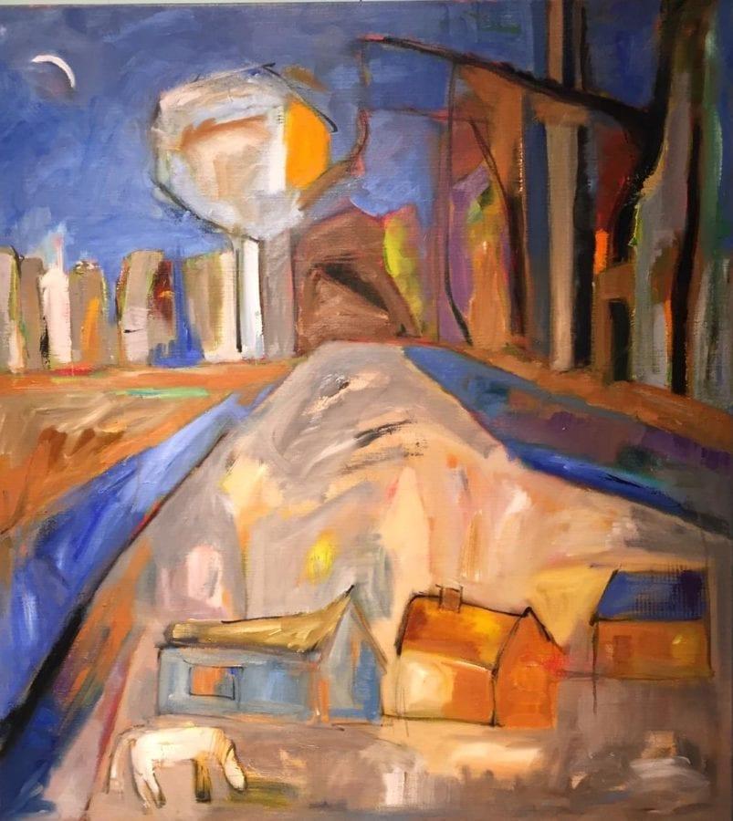 schilderij van Mayke Giesbers